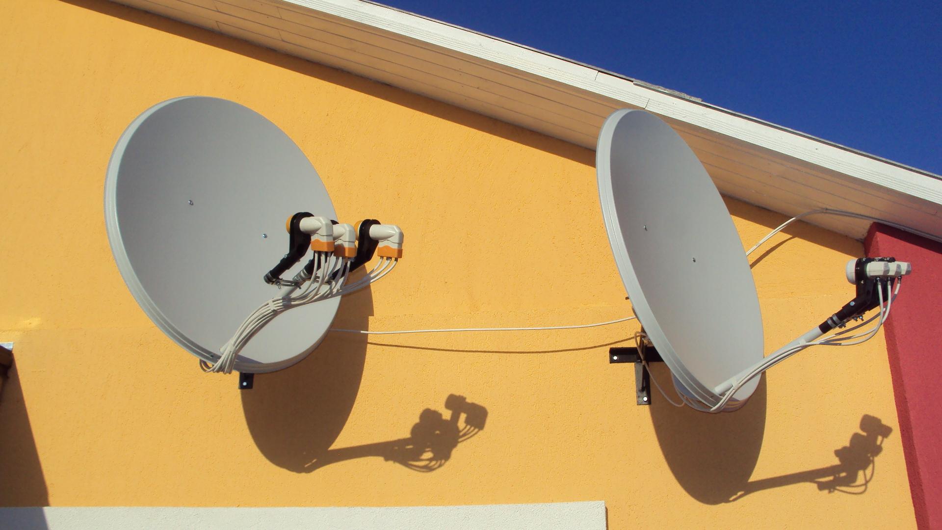 Настройка спутниковой антенны при помощи прибора Sat 46